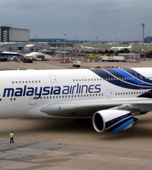 Malaysia Airlines receives it's first A380