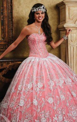 Beaded Sweetheart by Quinceanera Collection