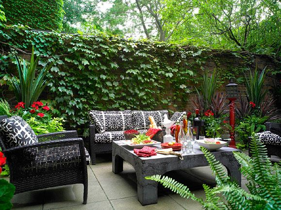 Charming courtyard.Plants Can, Courtyards Gardens, Decor Ideas, Landscapes Ideas, Courtyards Design, Courtyards Ideas, Outdoor Living Room, Courtyards Landscapes, Outdoor Spaces