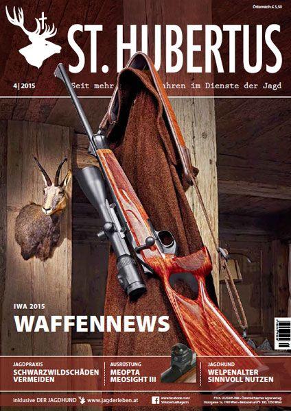 St Hubertus, Waffen, Jagdwaffen, Gewehr, Jagdgewehr, Jagd, April 2015
