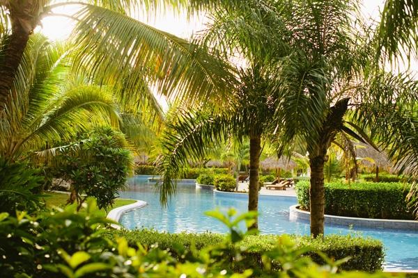 The pool at Dreams Punta Cana
