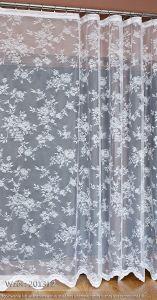 Firanka żakardowa - 201312 kol. biały - 250 cm