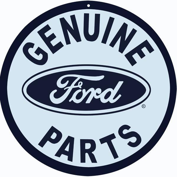 Genuine Ford Parts 4 Sizes 22 Gauge Metal Sign Usa Made Vintage