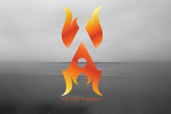 Fire A Logo by Magoo Studio on Creative Market