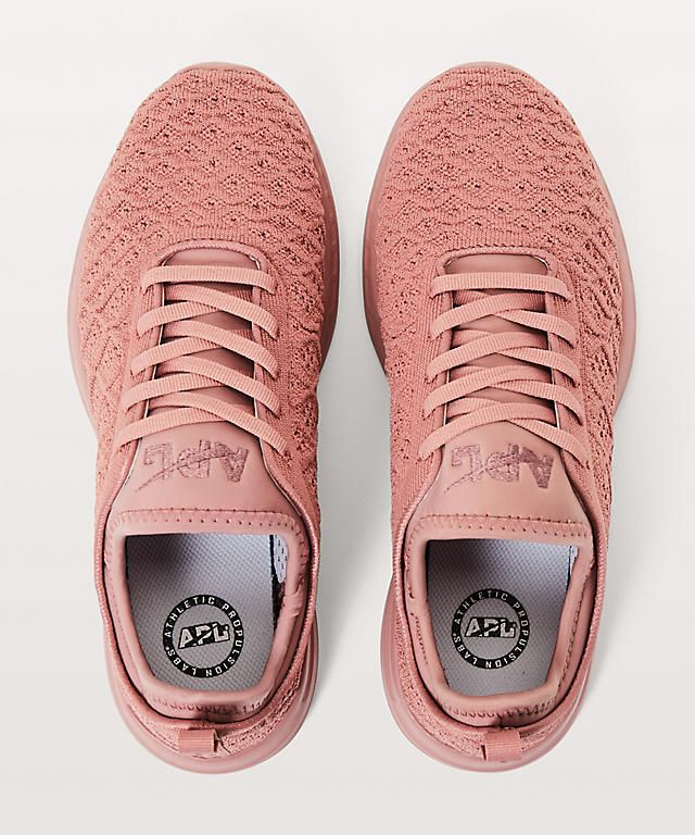 lululemon x APL Running Shoes in Rose Gold