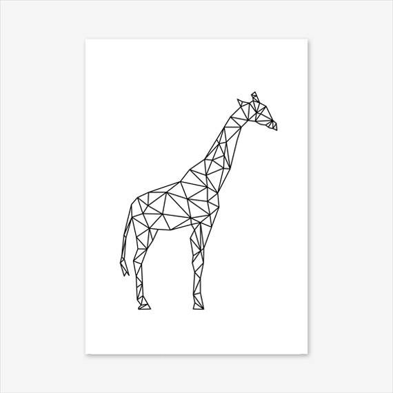 Geometric Decor, Giraffe Gift, Nursery Decor, Geometric Print, Giraffe Print, Kids Room Art, Animals Prints for Nursery, Printable Nursery #homedecorideas #homedecoronabudget #homedecordiy #homedecorideasmodern #homeoffice #homedecor #homeideas #wallart #walldecor #wallartdiy #art #print #digital #giraffegift #giraffeprint #giraffeart #giraffewalldecals #africananimalprint #animalprints