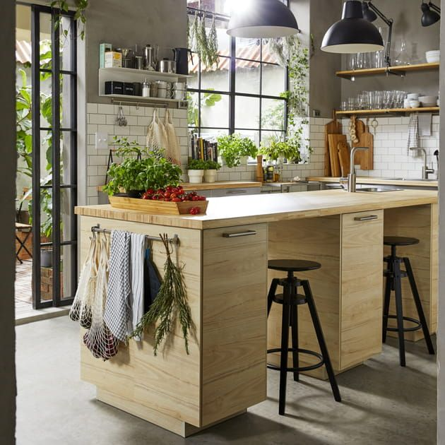 Ilot Central Multi Usages En 2020 Ikea Choses De Cuisine Catalogue Ikea