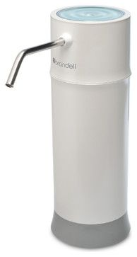 H2O+ Pearl Countertop Water Filter System contemporary-water-filtration-systems