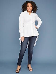 f6917ebc89959 Extreme Peplum Tunic Shirt   Lane Bryant   Fashion & Sewing ...