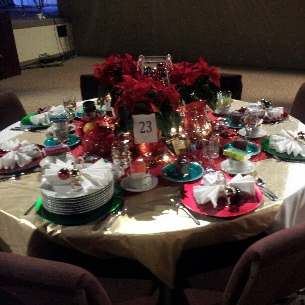 Nice Christian Ladies Christmas Party Ideas Part - 11: Photo By Dmcram This Is A Picture Of My Table For The Ladies Of Grace  Christian