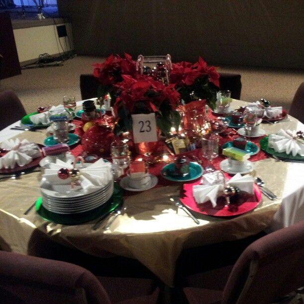 Christmas Tea Party Ideas: 16 Best Ladies Christmas Tea/Event Ideas Images On