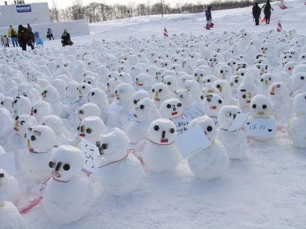 Best Snowmen And Other Snow Sculptures Images On Pinterest - 15 hilariously creative snowmen that will take winter to the next level 7 made my day