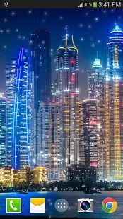 Dubai Night Live Wallpaper PRO- screenshot thumbnail