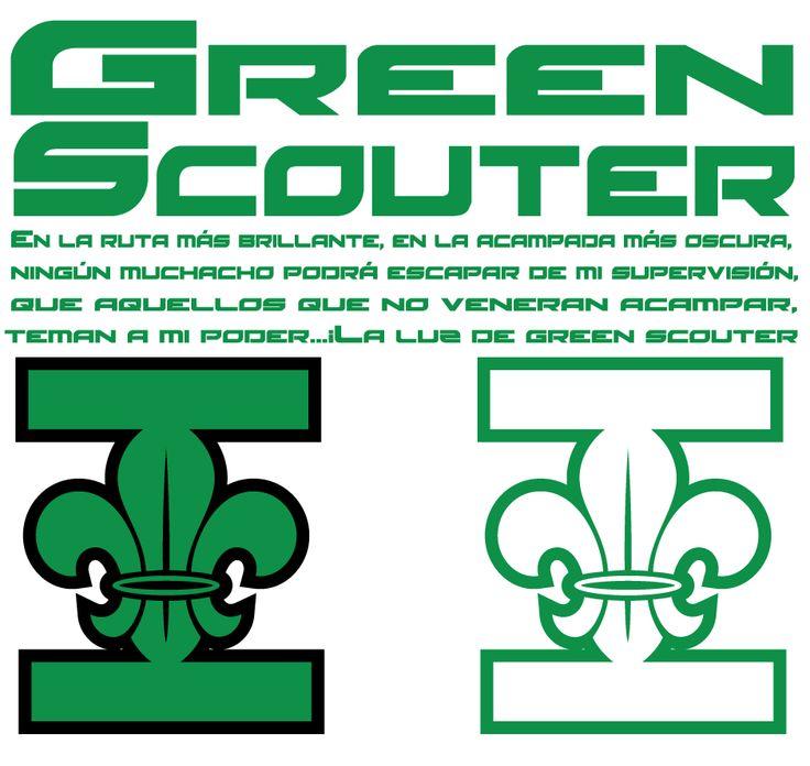 Juramento Green Scouter Green Lantern #ScoutingIsAllIn