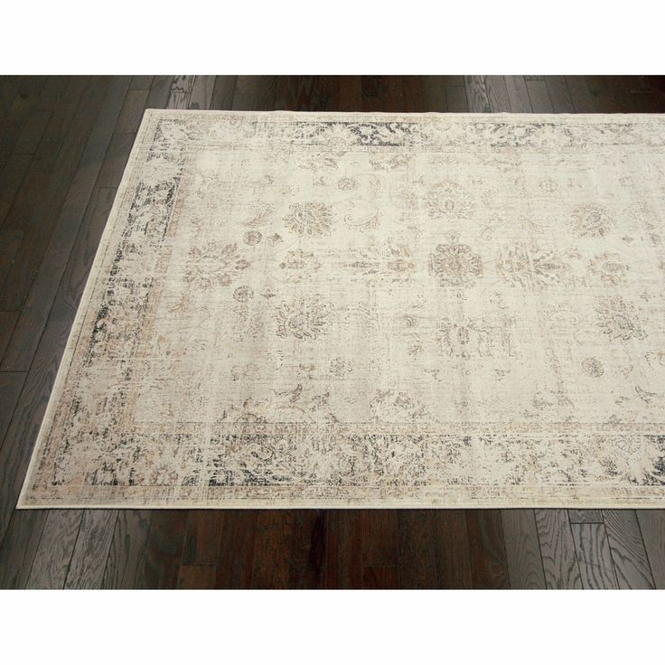 NuLOOM Oriental Vintage Viscose Persian Natural Area Rug   Overstock.com  Shopping   Great Deals