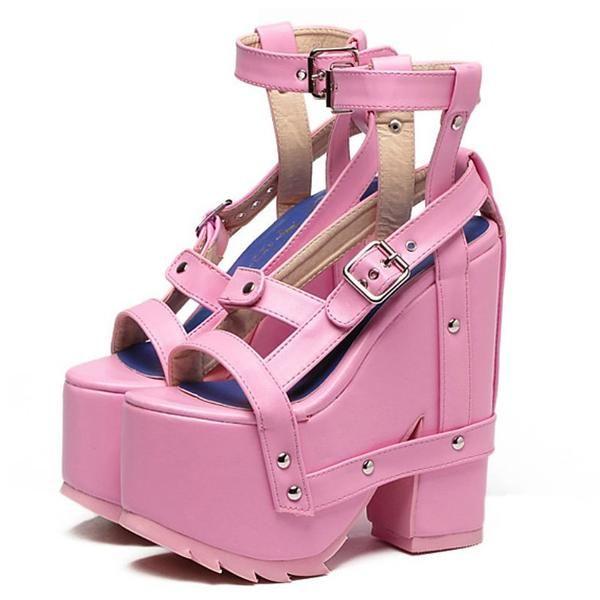 Josie Platform Heels