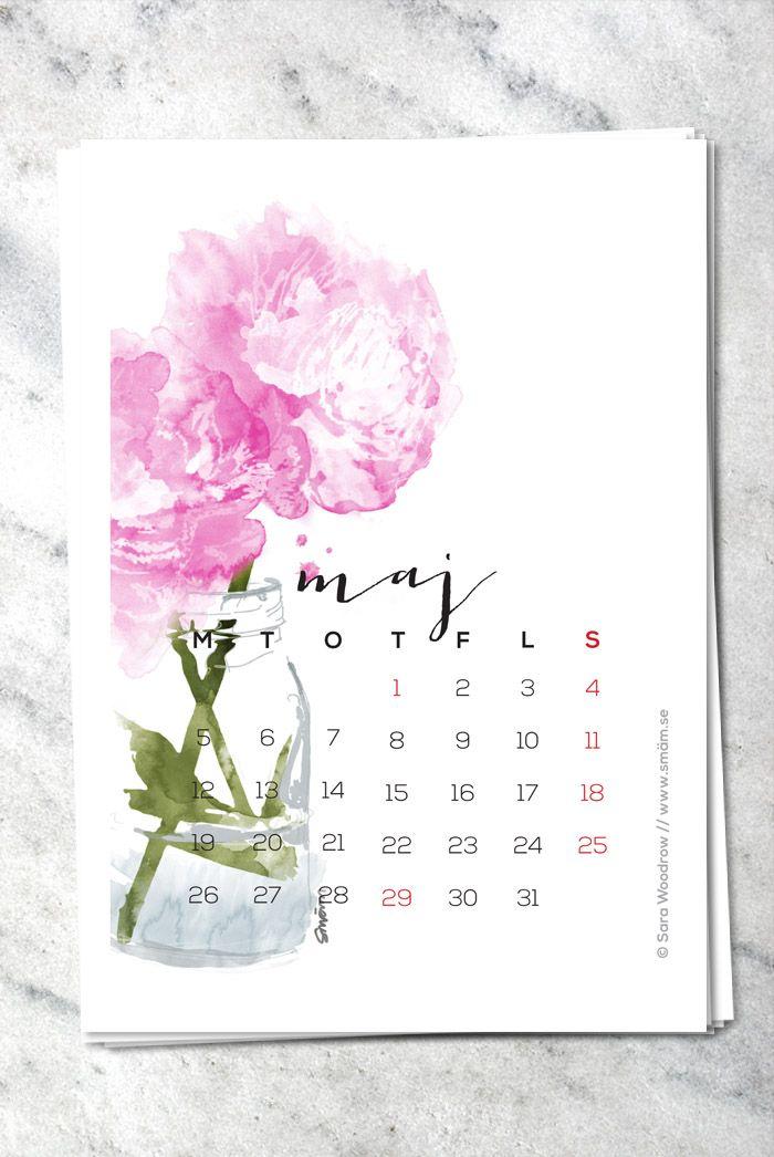 Free printable mini calendar 2014 | SMÄM