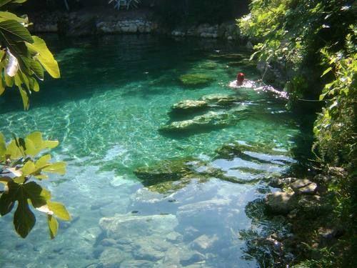 Keramet Natural swimmig Pool...Yalova, TURKEY
