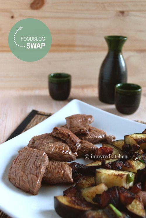 Japans rundvlees met sake en Yaki Onigiri | in my Red  Kitchen