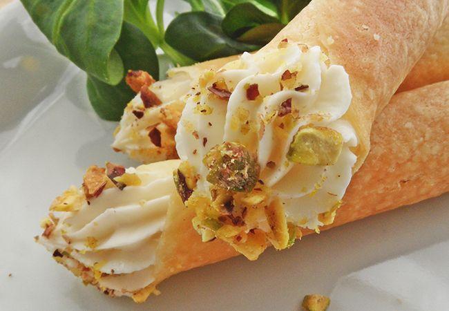 Zufolo salato con crema di formaggi | Food Loft - Il sito web ufficiale di Simone Rugiati