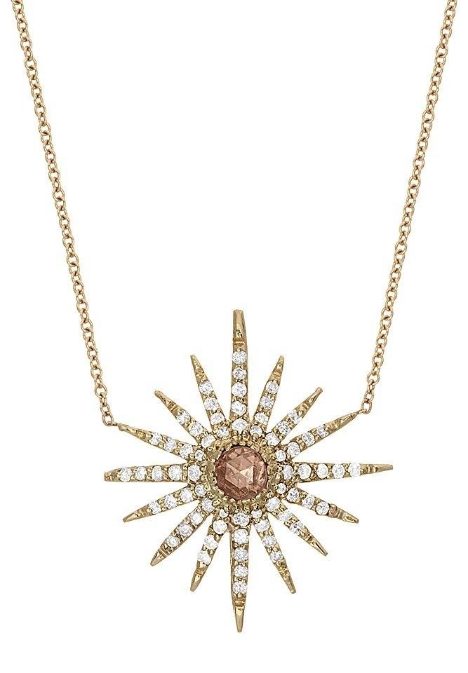 Starburst Necklace | Shawn Warren Jewelry - Desginer Jewelry - Gold Jewelry