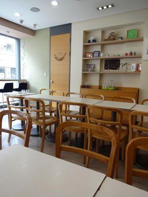 9月 ソウル旅行 その3 老舗カフェ 「ワッフルハウス」で絶品デザート♪♪ : ハレクラニな毎日Ⅱ