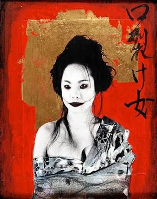 Kuchisake-onna leyenda de la cultura japonesa, historia de fantasmas.