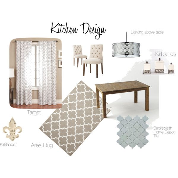 """""""Cheap Kitchen Makeover"""" by rebman87h on Polyvore"""