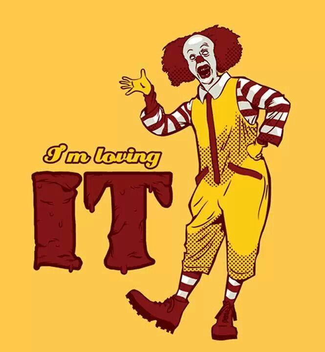 ... Ronald McDonald?? Se parece mucho pero no!! ... #Raritie #It #HorrorMovie #Clown #HappyBox #Cool