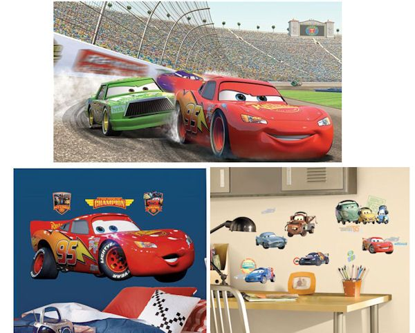 Cars Lightning McQueen XL Complete Room Decal Pack   Wall Sticker Outlet Part 87