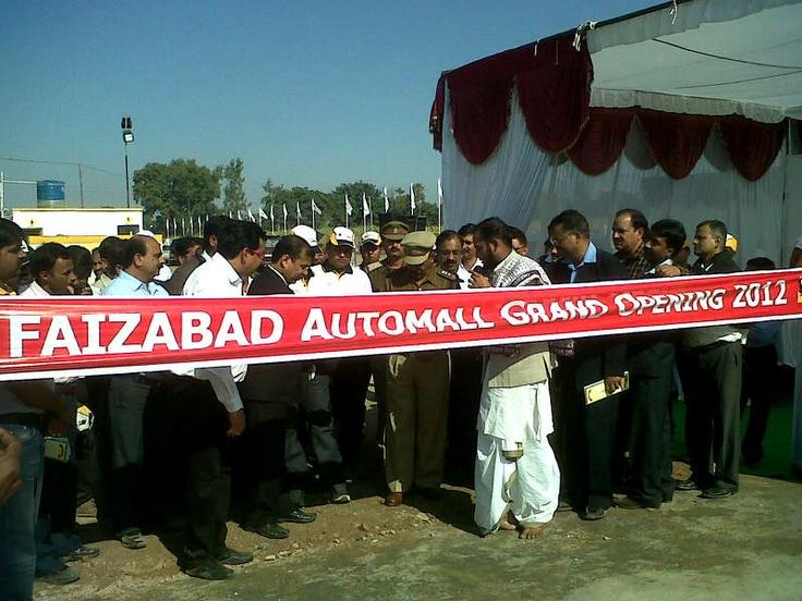 Inaugurated Grand Faizabad automall