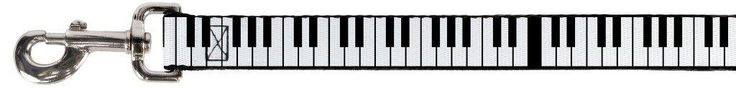 Black and White Keyboard Piano Keys Fun Animal Pet Dog Cat Leash * You can get additional details at the image link. (This is an affiliate link and I receive a commission for the sales)