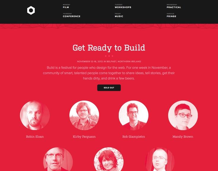 flat design   http://2012.buildconf.com/