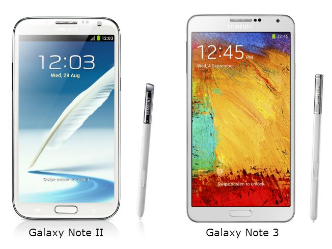 Samsung Galaxy Note 3 versus the Galaxy Note 2, what's new Samsung yesterday launched the Galaxy Note 3 at its annual pre-IFA press conference in Berlin. The Galaxy Note 3, which represents the third generation in its series of flagship phablet devices, features the latest and greatest hardware specifications that money can buy and Samsung will launch it in India on September 25. Let's take a look at what exactly has changed in the Galaxy Note 3 from its predecessor, the Galaxy Note 2.To…