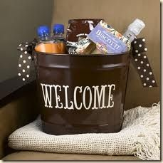 ideas for out-of-town wedding guest baskets