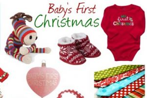 Sweet gifts for Baby's first Christmas #gifts #Christmas