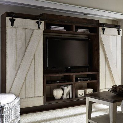 August Grove Yother Entertainment Center for TVs up to 55″