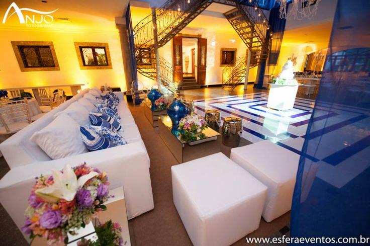Lounge próximo a pista de dança