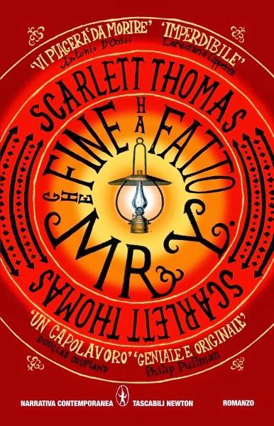"""""""Che fine ha fatto MrY"""", per me un romanzo rivelazione, in cui vite reali e sogni si fondono. Come nel film Matrix, quello che sembra reale è solo un'illusione creata dalla nostra mente, un mondo in cui scienza, religione, materia, e coscienza si uniscono. Scarlett Thomas ha scritto un thriller di fantascienza basandosi su congetture filosofiche, fisiche, matematiche e letterarie, creando un mix perfetto. Unica nota stonata il finale, per il resto merita di essere letto."""