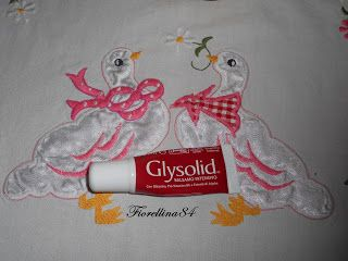 ...Fiorellina84...: Recensione balsamo labbra Glysolid