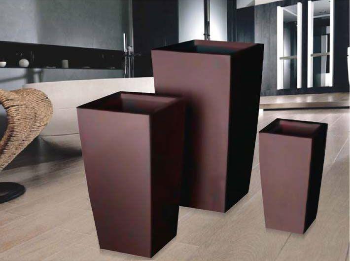 Macetas de madera minimalistas buscar con google - Maceteros de interior ...