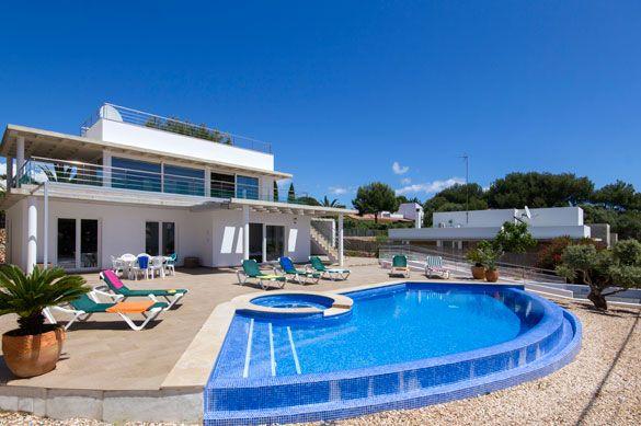 Villa Primasol, Punta Prima, Menorca, Spain. Find more at www.villaplus.com