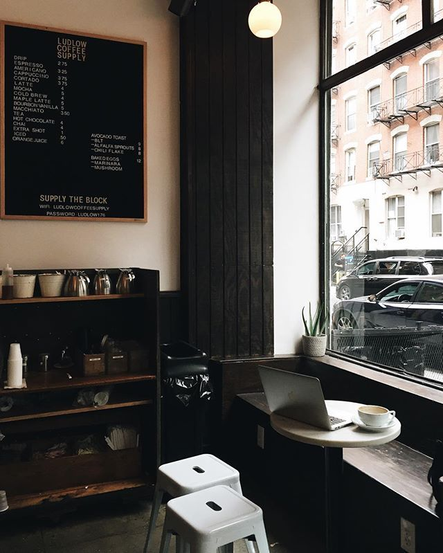 ludlow coffee supply | lower east side, NYC