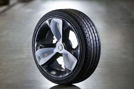 plastic rims that are lighter, but just as strong as, metal!