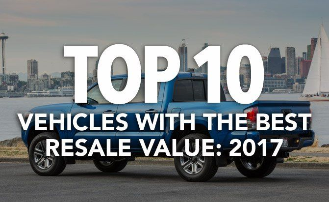 Kelley Blue Book has announced its top 10 vehicles with the best resale value for 2017. See the full list at AutoGuide.com.