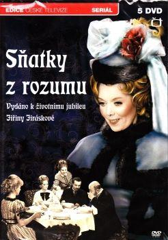 Televizní seriál z Edice České televize Sňatky z rozumu na DVD.