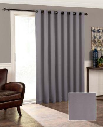 Eclipse Tricia Thermapanel Room Darkening Door Panel 100 X 84 Reviews Window Treatments Blinds Macy S Panel Doors Curtains Home Depot Patio Doors