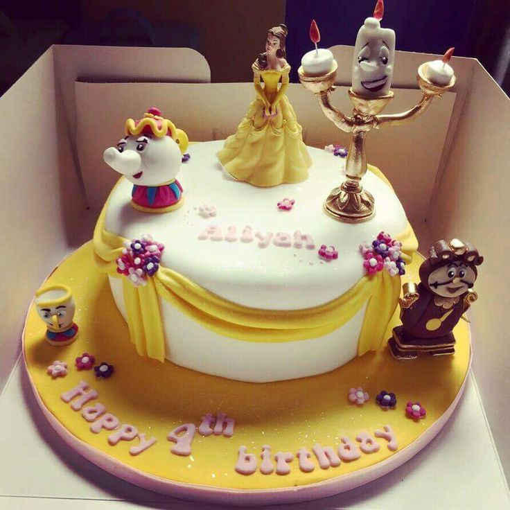 Cake Topper Disney La Bella Y La Bestia : Beauty n beast cake ideas Pinterest Beauty and the ...