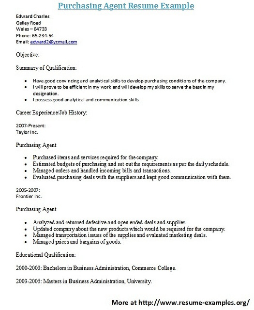 Attractive For More And Various Purchasing Resumes Visit: Www.resume Examples.org/