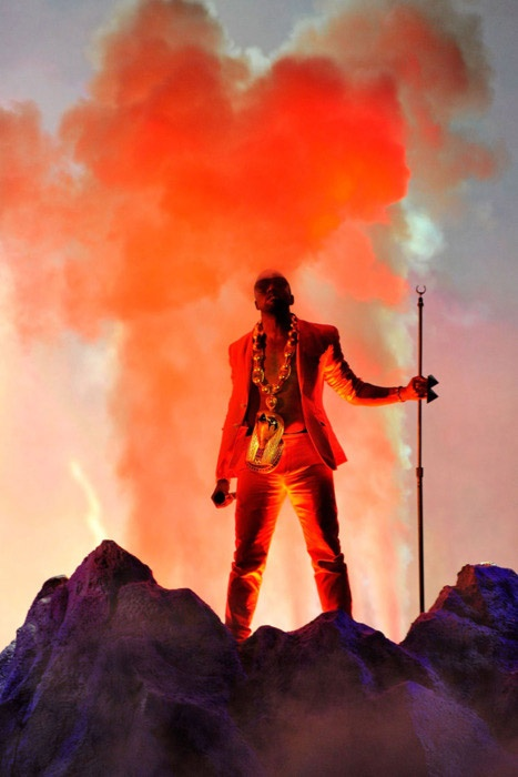 Kanye is one of the greatest performers of all time